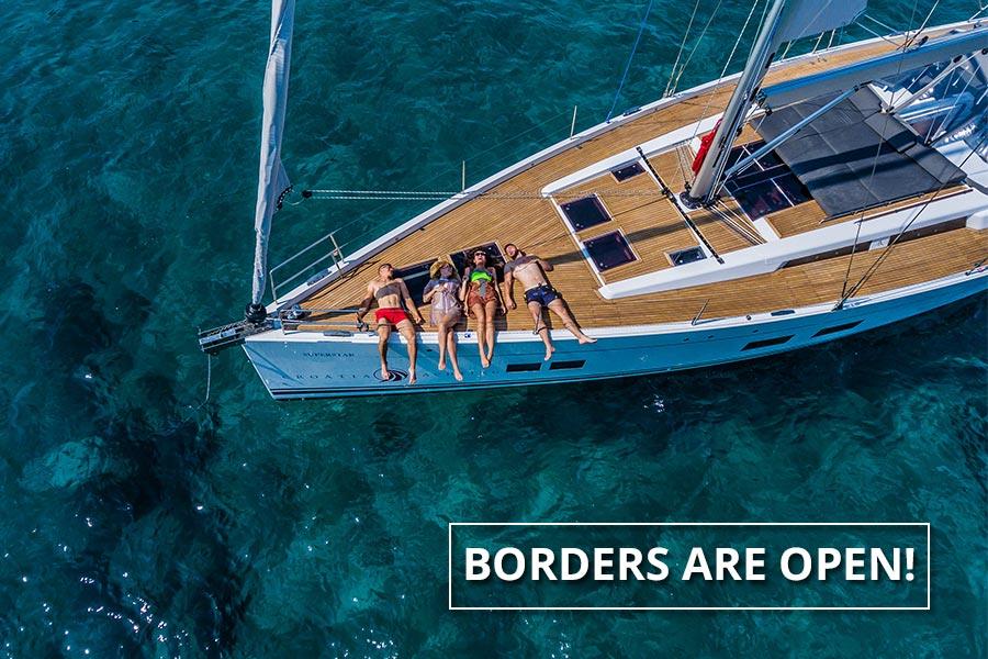 Croatia is open - welcome back!