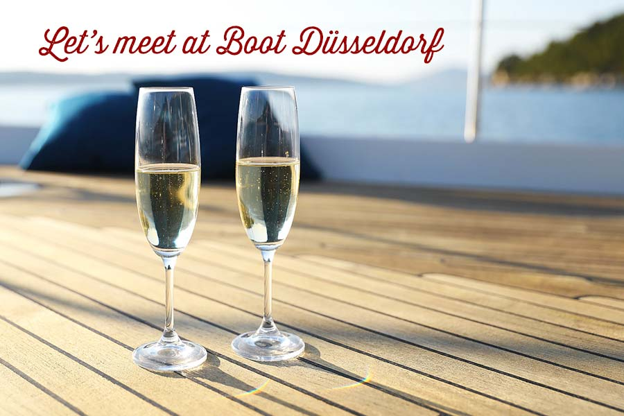 Let's meet at Boot Düsseldorf