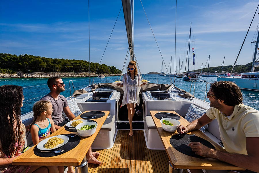 Pantry staples to stock on your sailing holiday