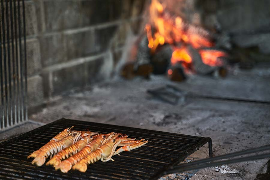 Dalmatian Traditional Fish Food
