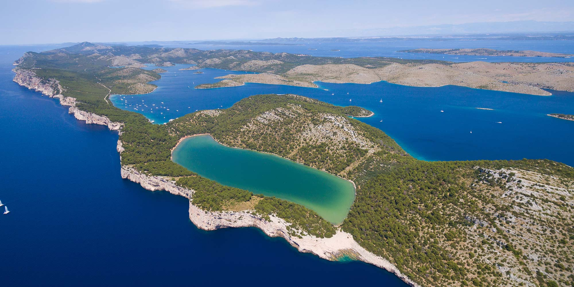 Sailing Route From Zadar
