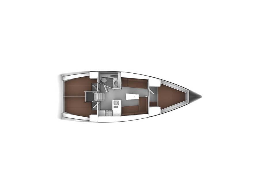 Bavaria Cruiser 37  | Baby Panda- A/C (sh power), underwater lights