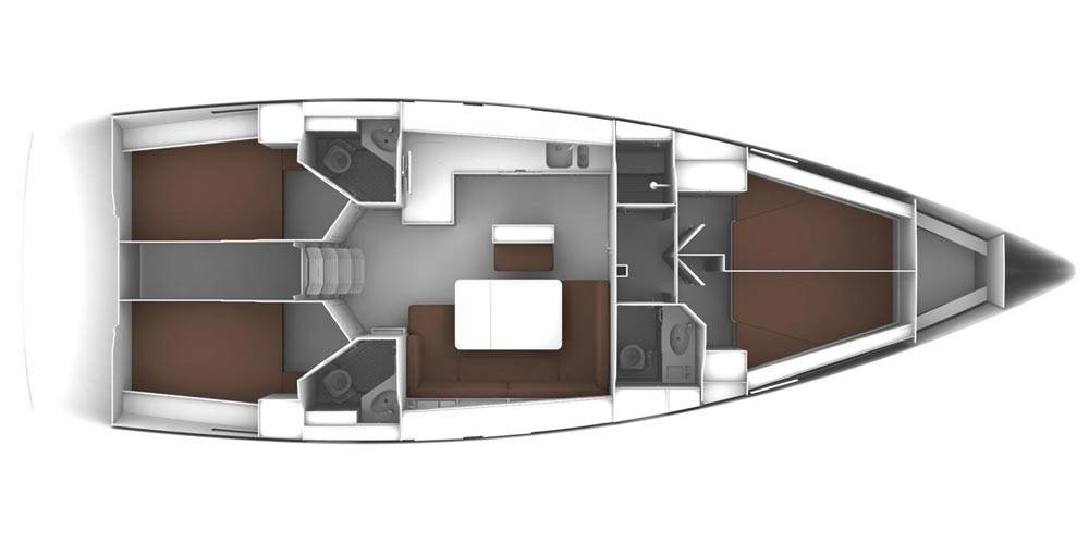 Bavaria Cruiser 46 OD  | CARA