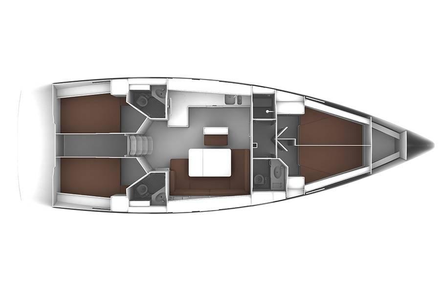 Bavaria Cruiser 46    MH 50