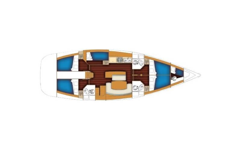 Cyclades 50.5  | Lea