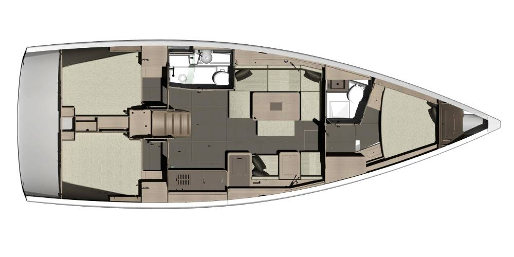 Dufour 410 GL  | Lily