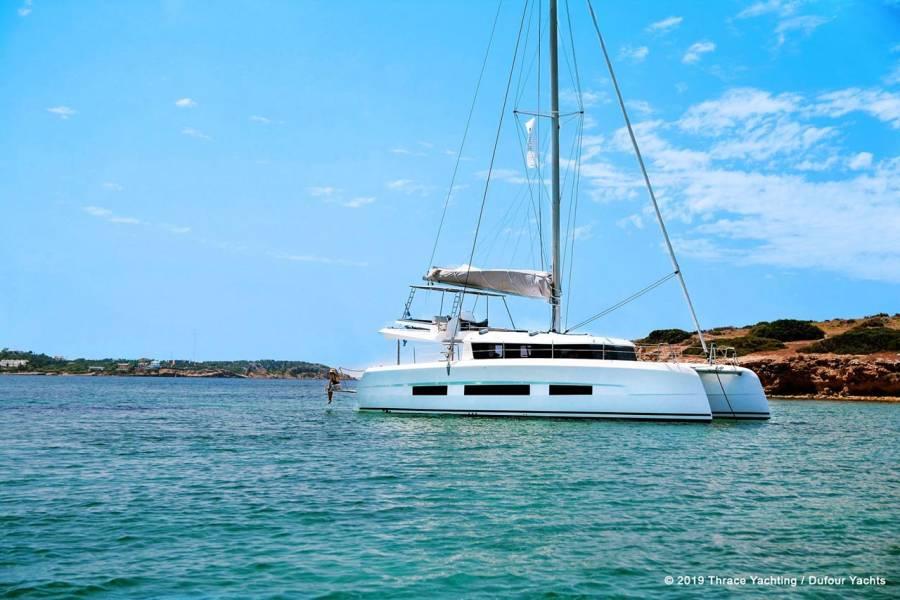 Dufour 48 Catamaran    Bahia Serena