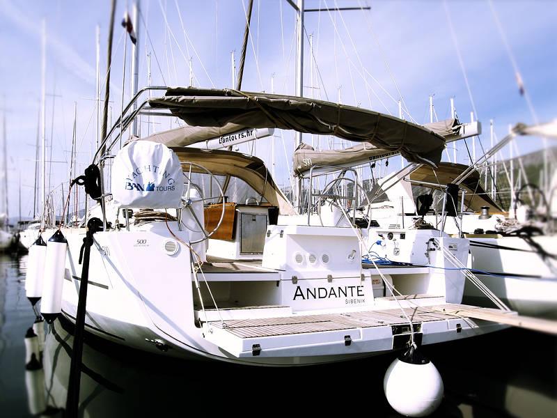 Dufour 500 GL  | Andante