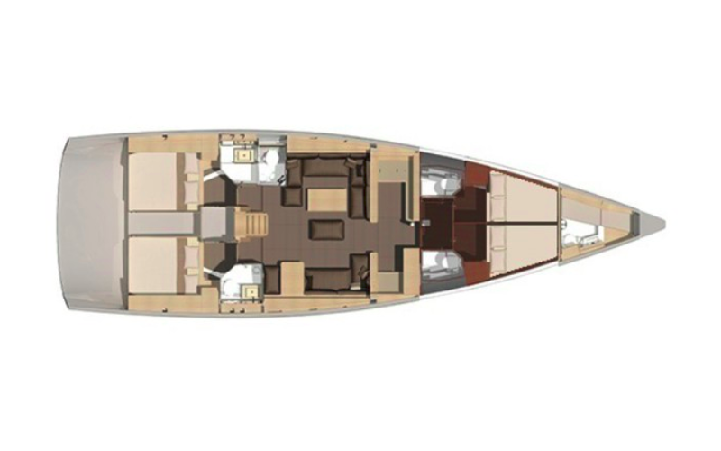 Dufour 560 GL | PETROVICH - FULLY EQUIPPED