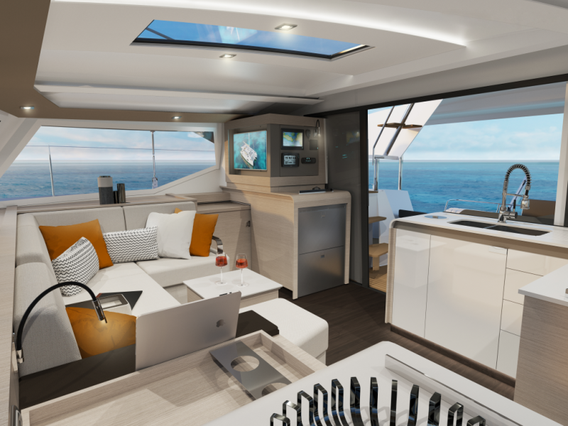 Fountaine Pajot Isla 40  | Island Escape with AC and generator