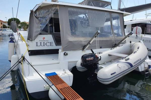 Fountaine Pajot Lucia 40 | Luce, A/C - shore power only