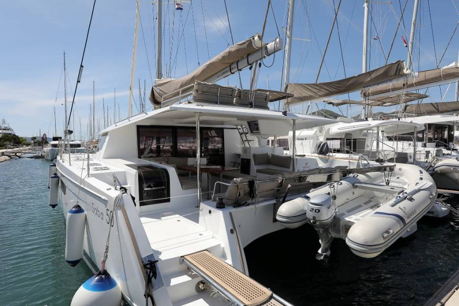 Fountaine Pajot Saba 50 - 6 + 1 cab.