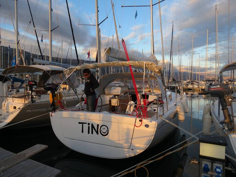 Hanse 385    Tino