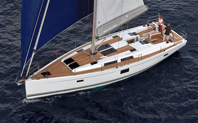 Hanse 455 | Wind Rose