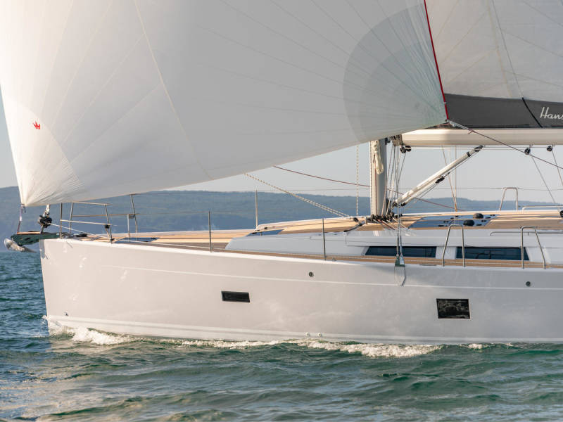Hanse 458    NEW-1- 2022