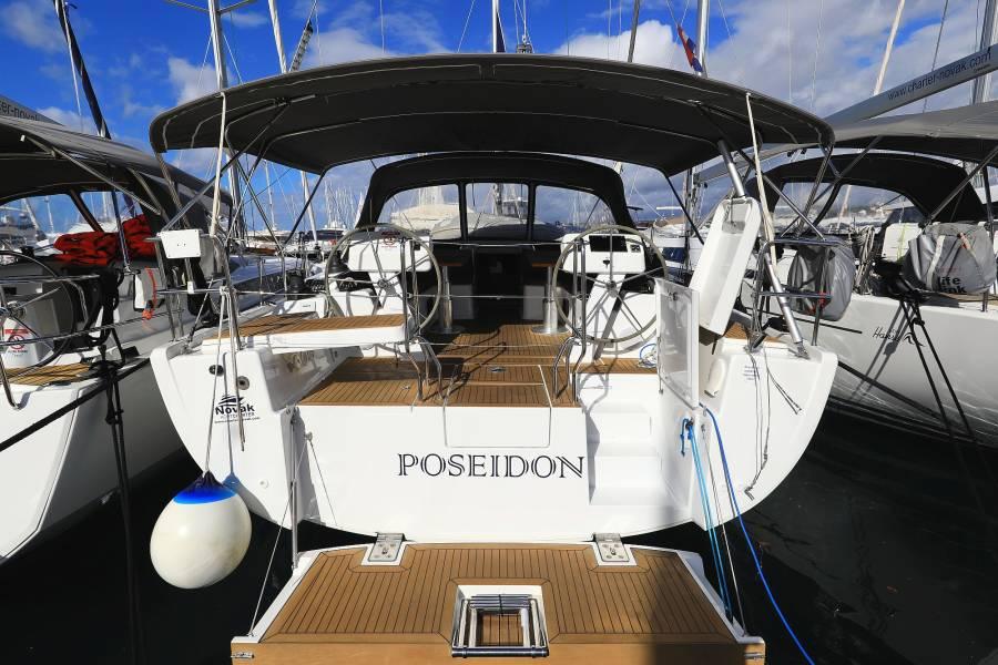 Hanse 508  | POSEIDON with AC shore power