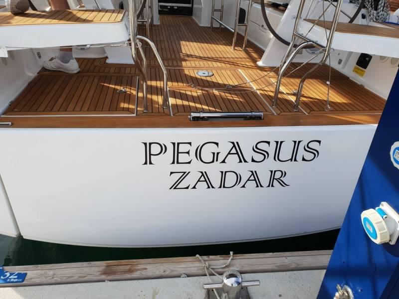 Hanse 508    Pegasus, A/C - shore power only