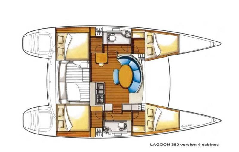 Lagoon 380  | Moonshadow