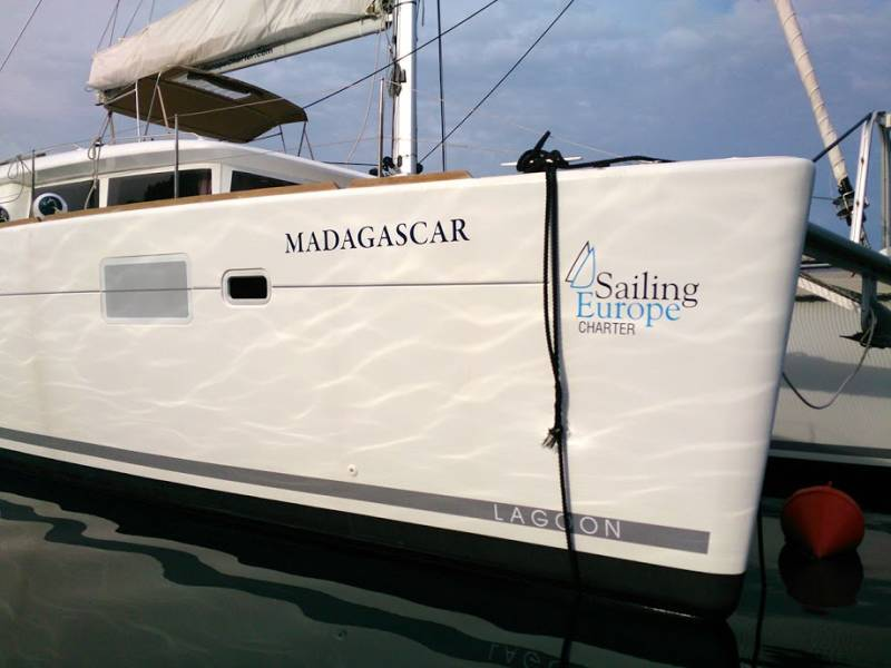 Lagoon 450    Madagascar