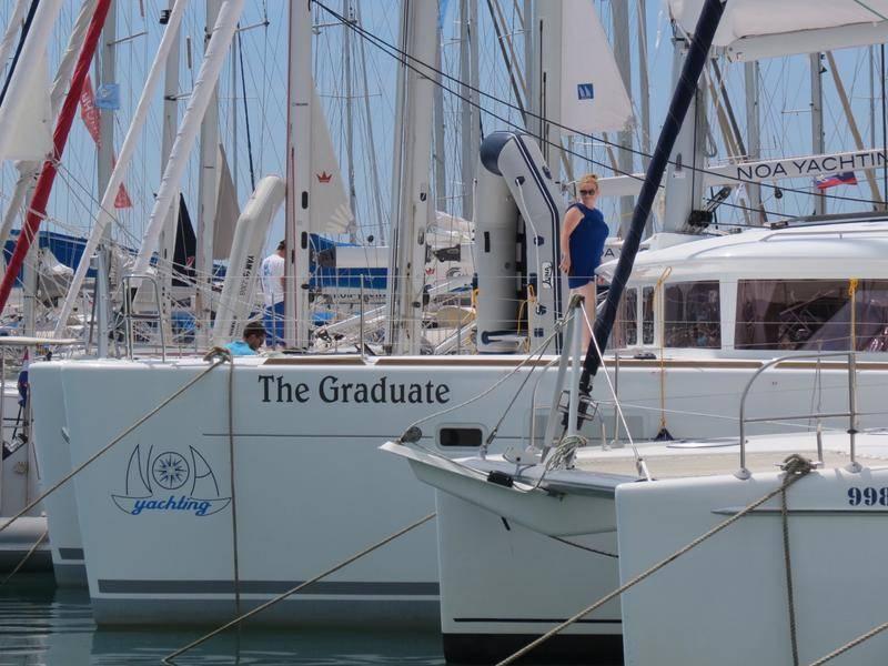 Lagoon 450  | The Graduate- A/C, GEN