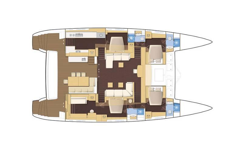Lagoon 620 | Spirit of Adventure - CREWED (Skipper & Cook)