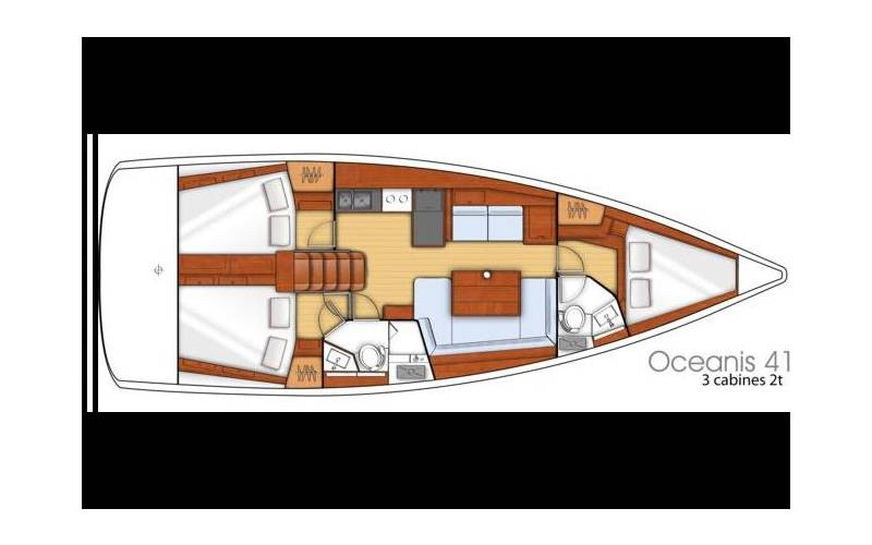 Oceanis 41 | Limoni