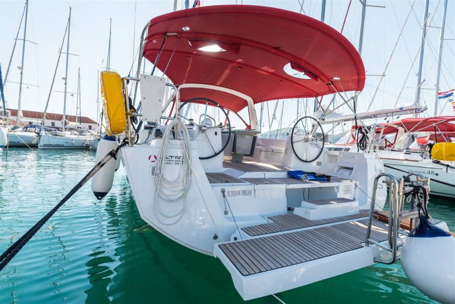 Oceanis 48 | Summer Dream with AC and generator