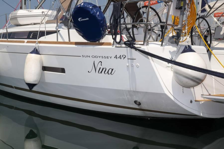 Sun Odyssey 449    Nina