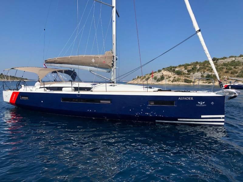 Sun Odyssey 490  | ALFADER (BLUE HULL, AC+GEN,UNDERWATER LIGHTS)
