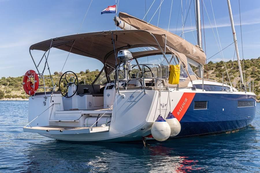 Sun Odyssey 490  | BALDUR (BLUE HULL, AC+GEN,UNDERWATER LIGHTS)