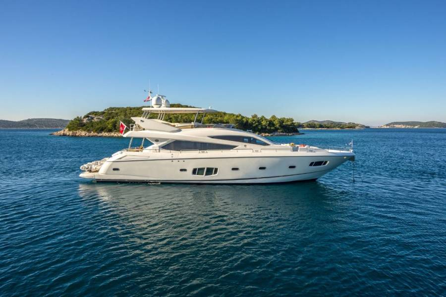 Sunseeker Yacht 80