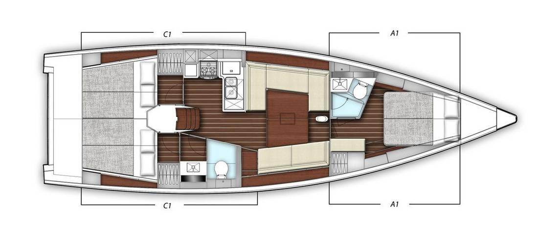 x-Yacht X4³ | Xirena